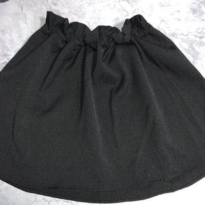 Keepsake the Label Cinched Black Skirt S NWT